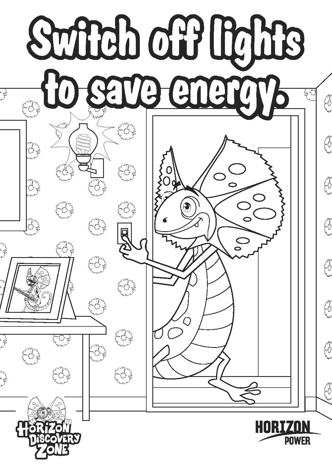 science energy coloring pages - photo#9